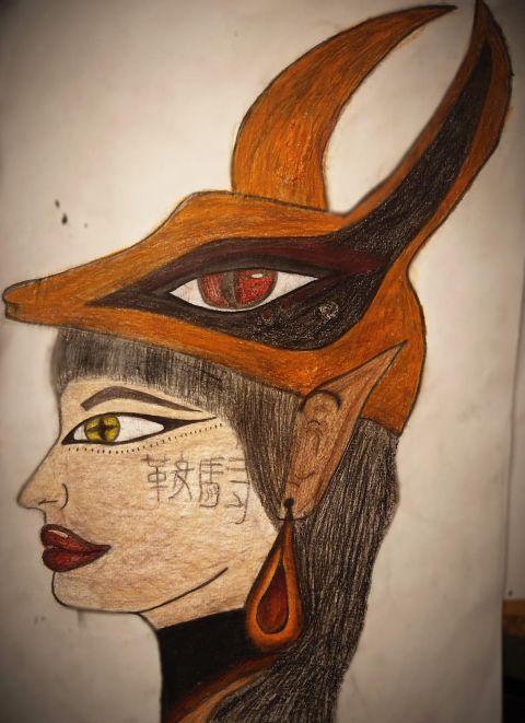6c Ägypten Kopfschmuck 2